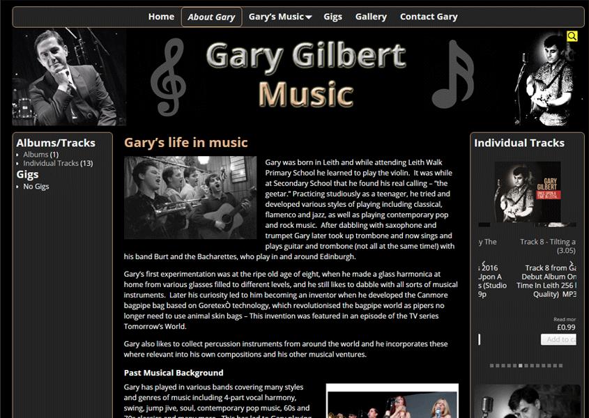 Gary Gilbert Music