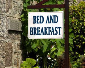 Bed and Breakfast/small hotels