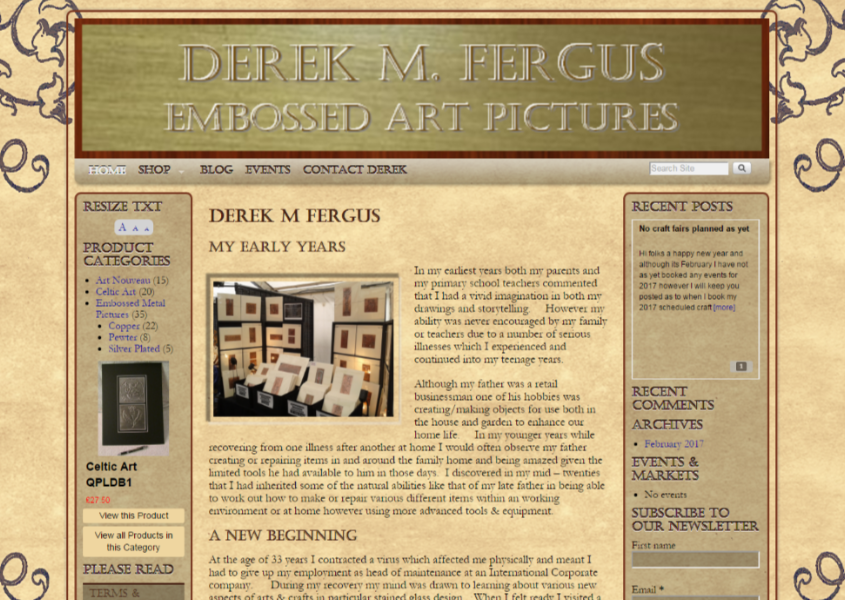 Derek M Fergus